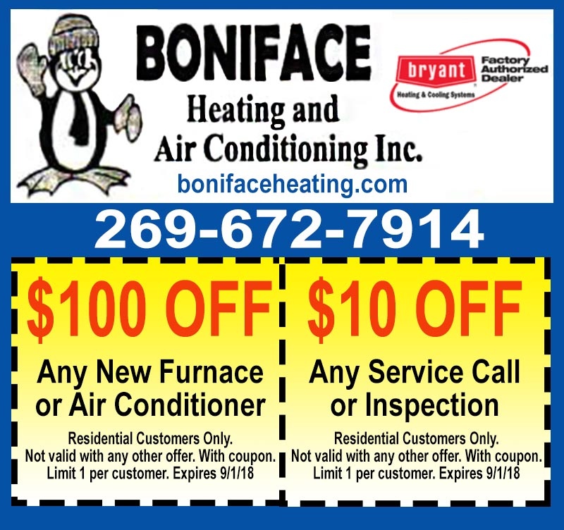 hvac coupon wayland mi